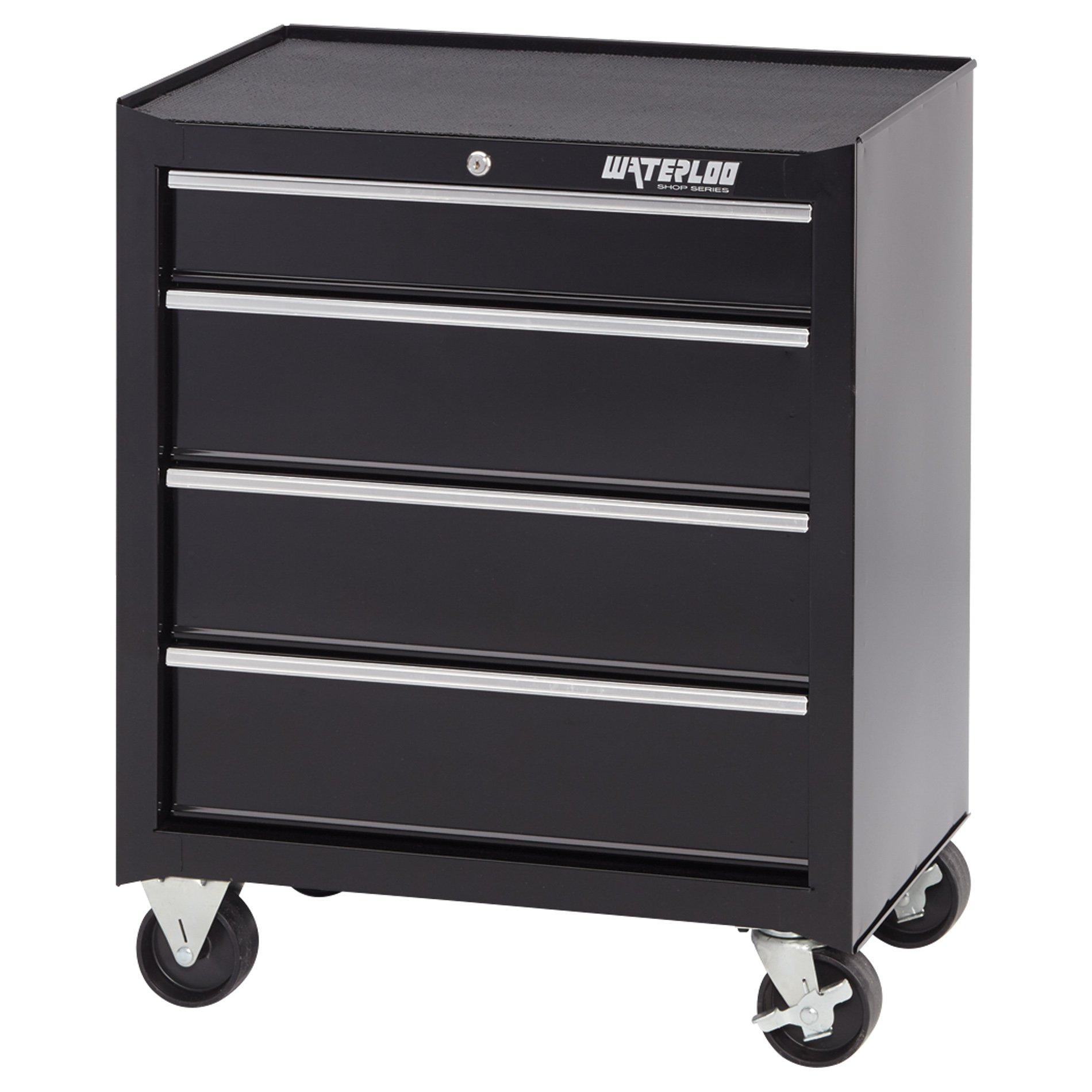 Waterloo 4-Drawer Ball-Bearing Tool Cabinet, 26'' W - Designed, Engineered and Assembled in the USA by Waterloo