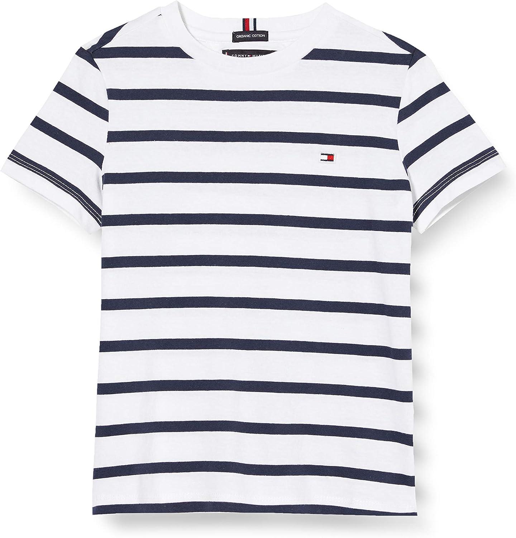 Tommy Hilfiger Nautical Stripe Tee S//S Maglietta Bambino