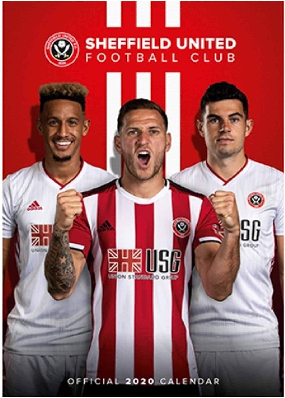 420mm x 297mm A3 Sheffield United Official 2021 Soccer Calendar