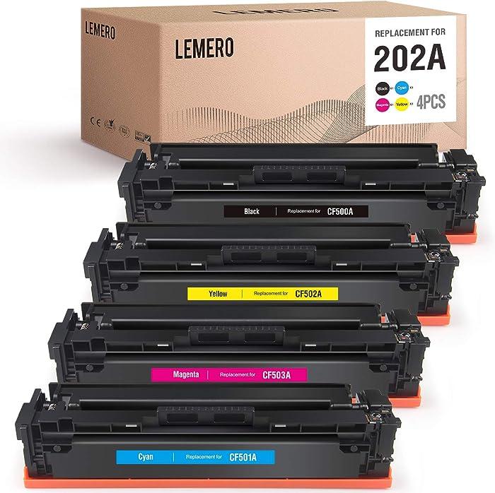The Best Hp Color Laserjet Pro M254dw Toner Cartridges 202X