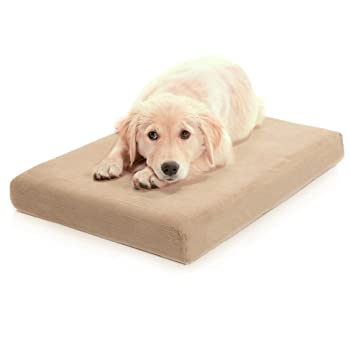 Millard Premium Orthopedic Memory Foam Dog Bed