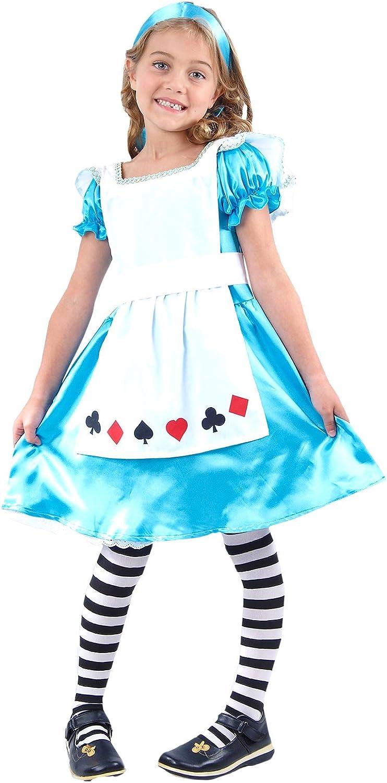 Ciudad de la moda® Childrens Kids Niñas Disfraz de Alicia en el país de las maravillas libro semana cuento de hadas: Amazon.es: Ropa y accesorios