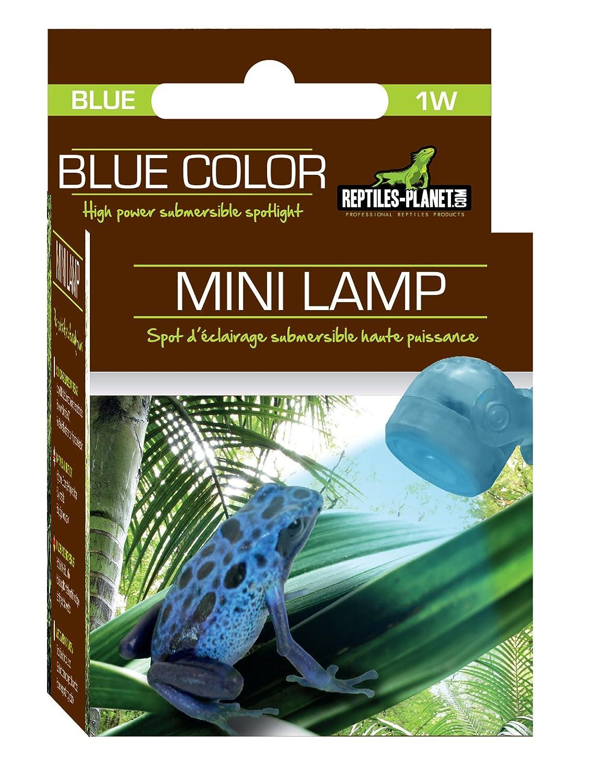 Rettili Planet illuminazione Mini Lampada LED blu Rettili imitazione della luna REPTILES PLANET 875961