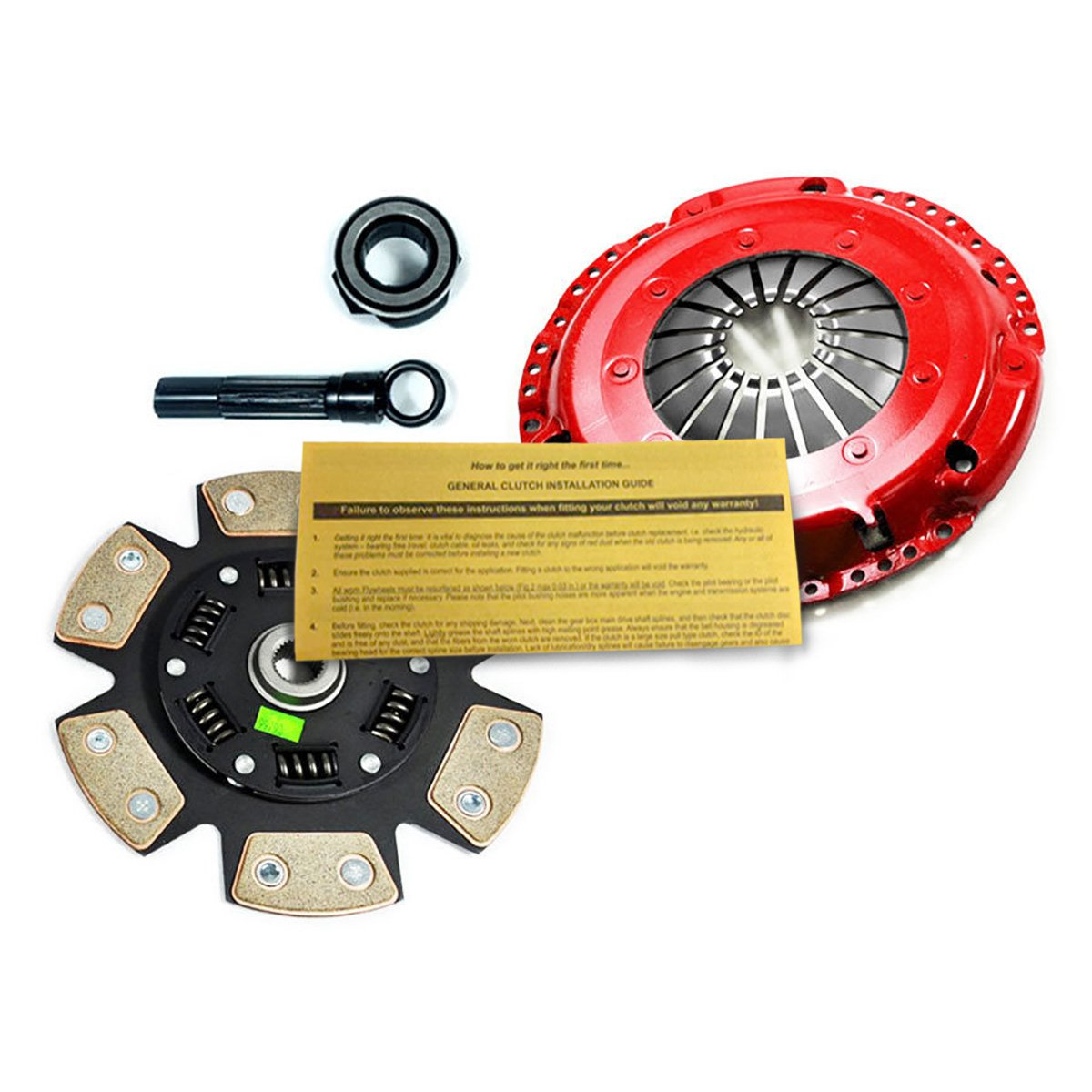 Amazon.com: EFT STAGE 3 SPORT CLUTCH KIT 96-99 VW GOLF JETTA PASSAT 1.9L TDI TURBO DIESEL: Automotive