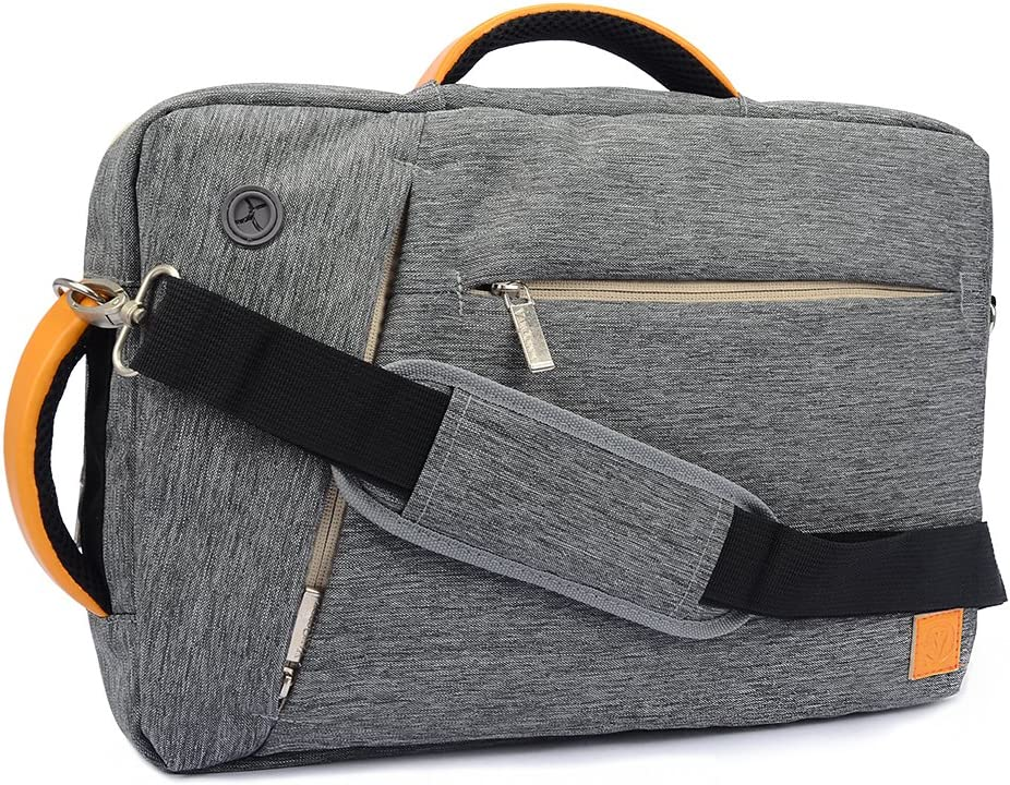 Slate17 Inch Laptop Bag Briefcase Backpack Tote for Lenovo ThinkPad 17, Asus ROG, X751, Dell Inspiron 17, Razer Blade Pro Series17.3, Gray