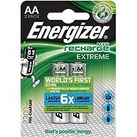 Energizer NimH-accu oplaadbare Extreme Mignon (1,2 volt 2300 mAh, voorgeladen 2-pack)