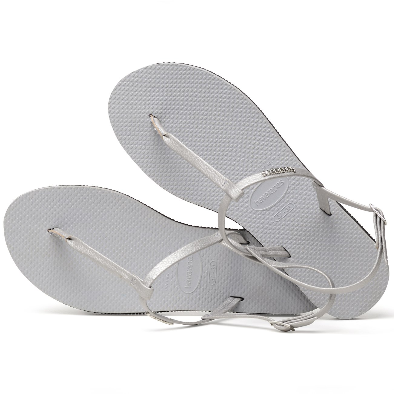38def576f Havaianas You Riviera Ice Grey UK 8-9  Amazon.co.uk  Shoes   Bags
