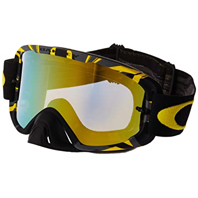 Oakley O2 XM Men's Goggles (Intimidator Gunmetal Yellow Frame/24K Iridium): Automotive