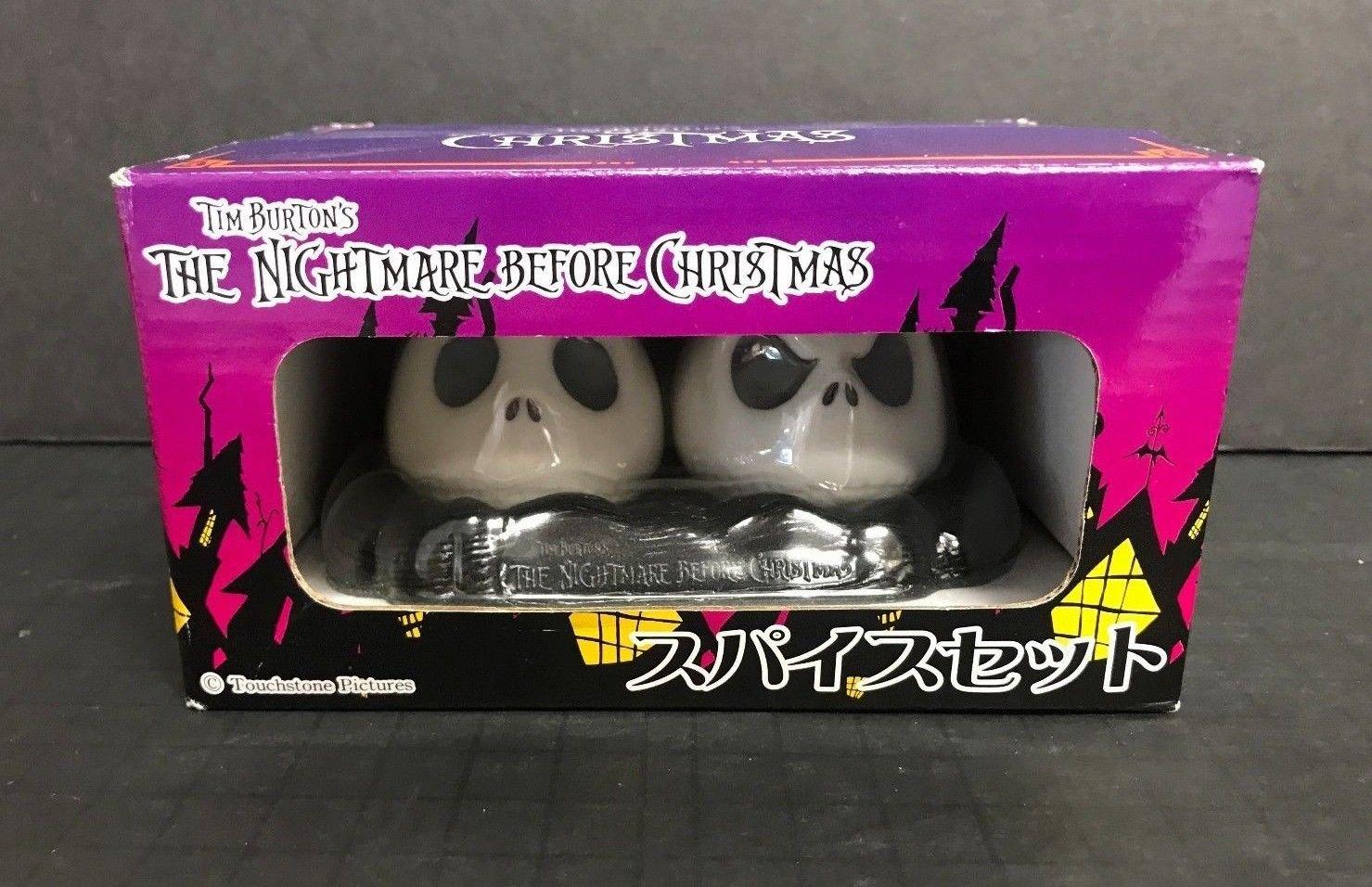 Jack Nightmare Before Christmas SEGA Salt & Pepper Shaker Set ...