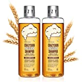 CRAZY SKIN Beers Shampoo (2 PACKS) - pH 5.5 German Beer Yeast Scalp Care Hair Shampoo, Shampoo for Thinning hair and Hair Los