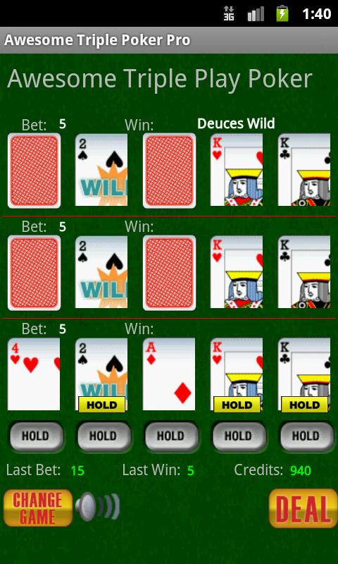 Triple 8 poker