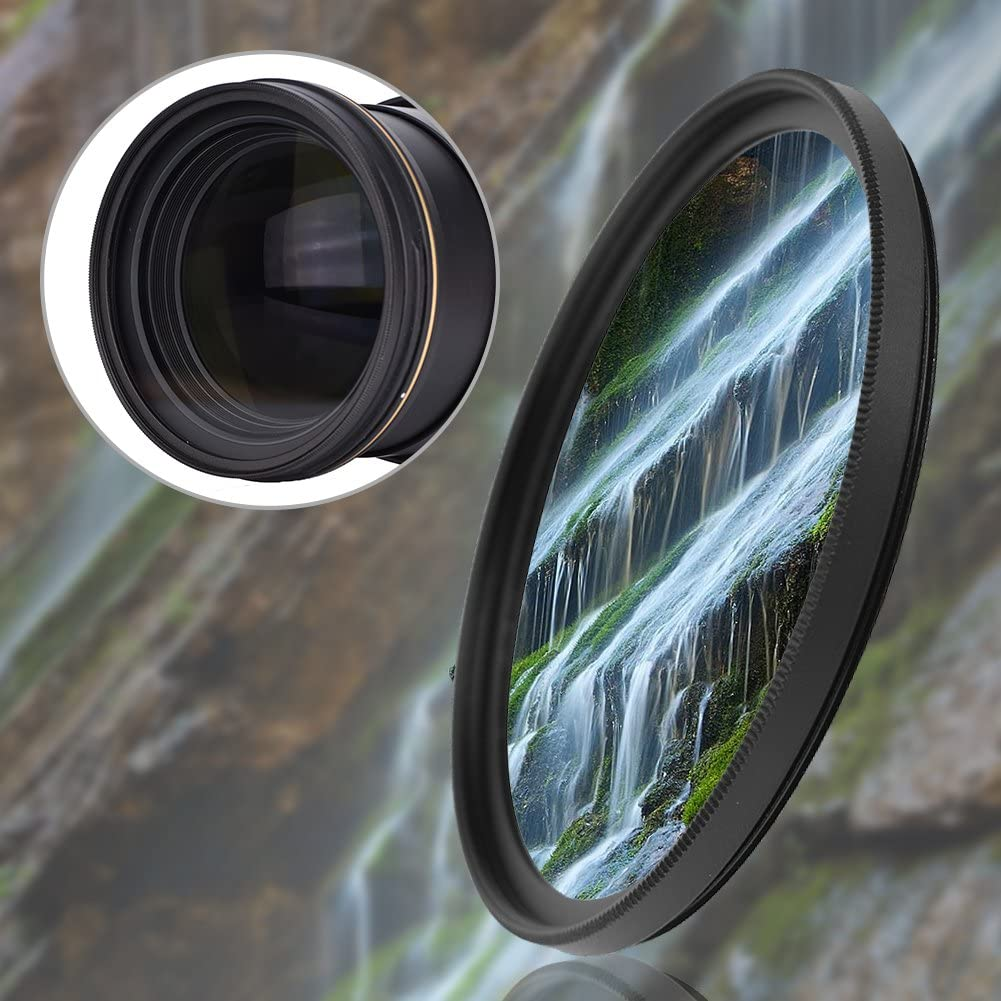 Mugast Camera UV Lens Filter,Slim Clear Lens Filter Kit,37mm//52mm//67mm//72mm//77mm Filter,Professional Protector Polarizer Lens Kit for Canon Cameras 67mm