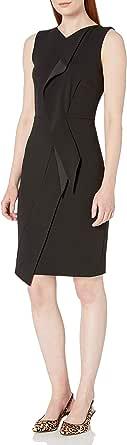 Calvin Klein Women's Sheath Dress with Ruffle