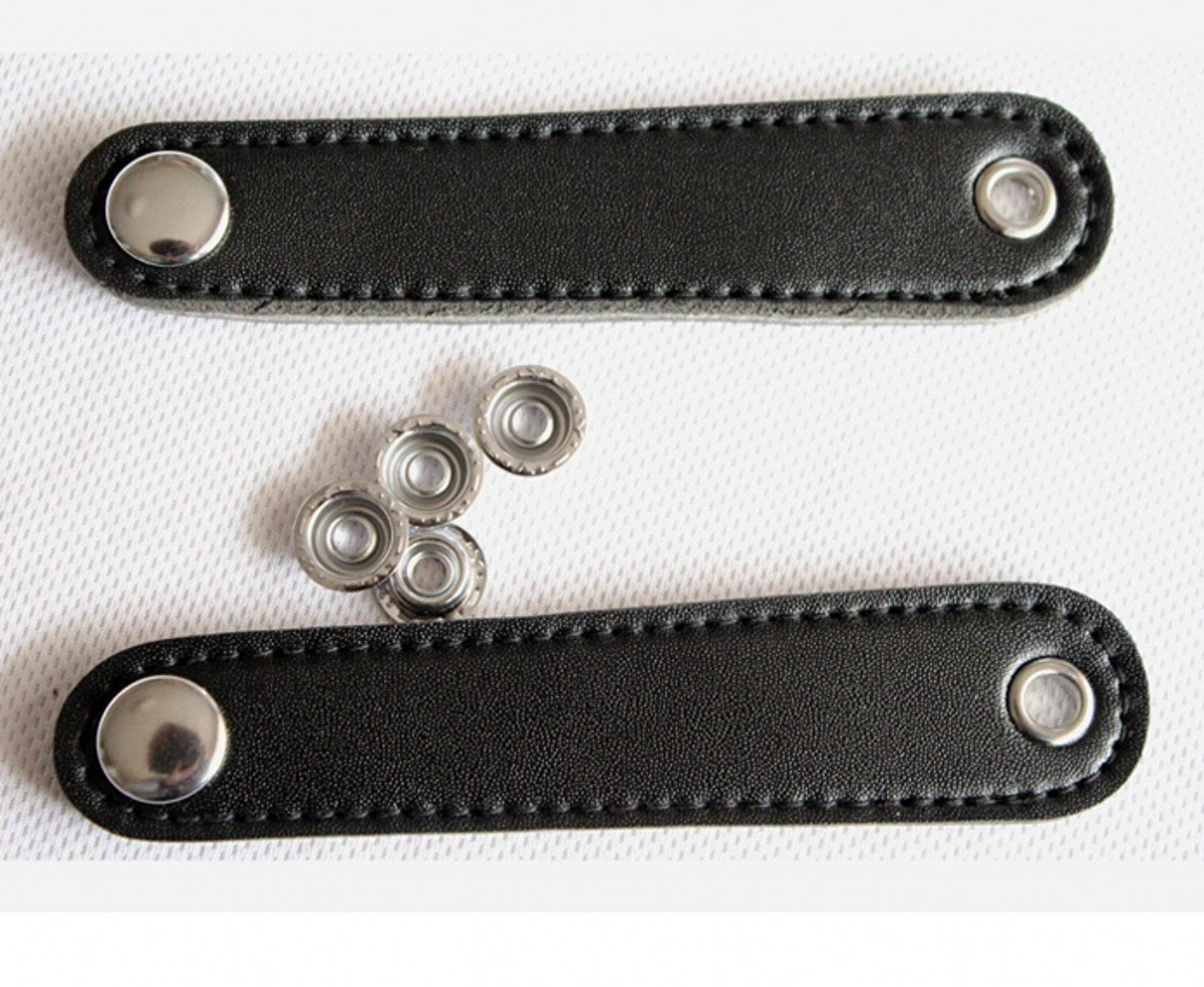 WellieSTR (A Pair) Real Leather Accordion/Accordian Bellows Straps