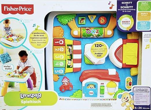 Mattel Fisher-Price LNL SS Table-GE-QE: Amazon.es: Juguetes y juegos