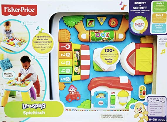 Mattel Fisher-Price LNL SS Table-GE-QE: Amazon.es: Juguetes y juegos