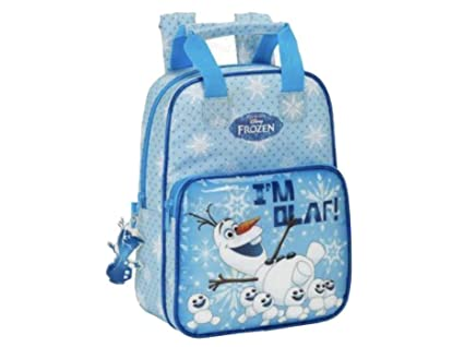 9cca689b88 Little Helper Disney Frozen Olaf Zainetto per bambini, 30 cm, Blue:  Amazon.it: Valigeria