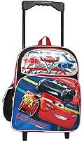 """Disney Pixar Cars 12"""" Toddler Rolling Backpack"""