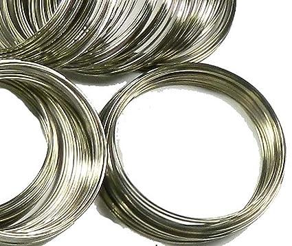 Amazon.com: Rockin Beads Memory Beading Wire Spring Steel, 2-1/4 ...