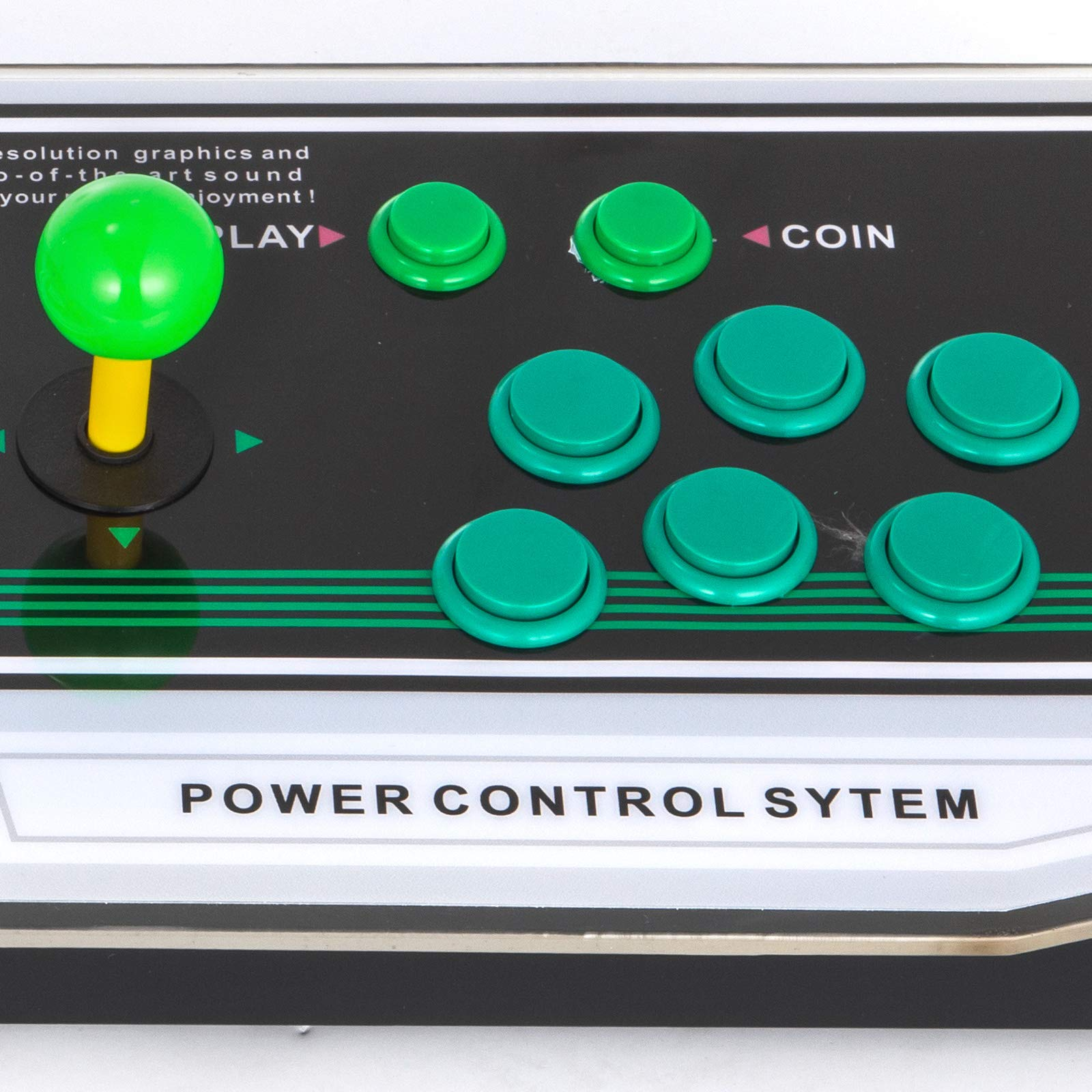 Happybuy Arcade Game Console 1280P Games 1500 in 1 Pandora's Box 2 Players Arcade Machine with Arcade Joystick Support Expand Games for PC / Laptop / TV / PS4 by Happybuy (Image #8)