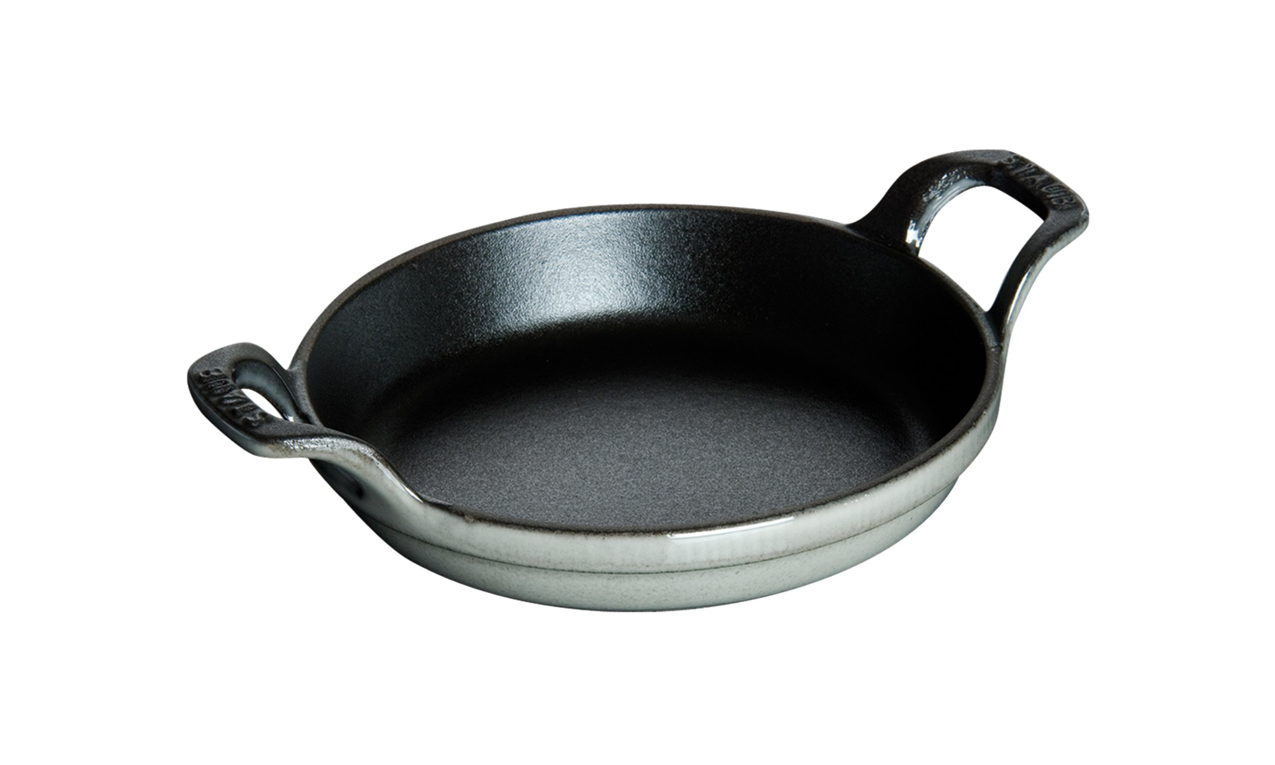 Staub 1302018 Round Roasting Dish, 20 cm, Graphite Grey