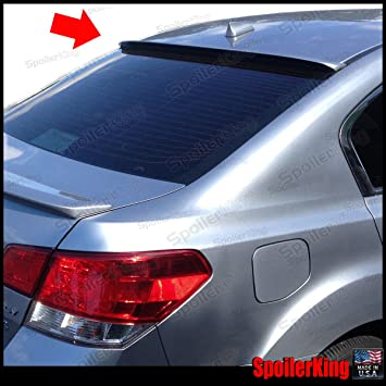UN-PAINTED-GREY PRIMER FOR SUBARU LEGACY 2010-2014 FLUSH MOUNT SPOILER WING NEW