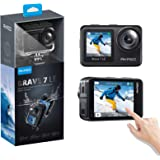 AKASO Brave 7 LE 4K30FPS 20MP WiFi Action Camera with Touch Screen Vlog Camera EIS 2.0 Remote Control 131 Feet Underwater Cam