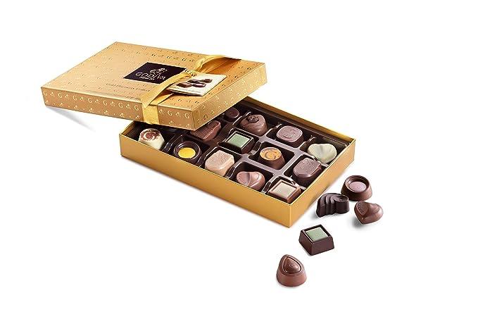 Godiva, Gold Discovery bombones pralines surtidos caja regalo 15 ...