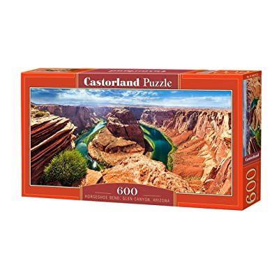 Puzzle Horseshoe Bend, Glen Canyon, Arizona 600 Pieces: Toys & Games