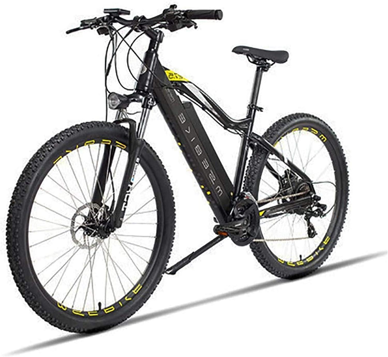 Bicicleta eléctrica de nieve, 27,5 pulgadas de bicicletas de montaña 48V Eléctrica en la batería de litio for adultos 400W Urbano Tráfico bicicleta eléctrica extraíble, los cambios de 21 velocidades d