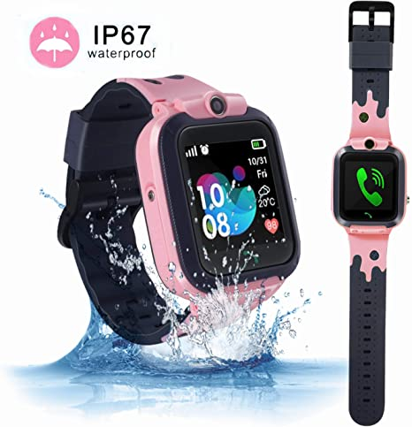 Amazon.com: ZOPPRI - Reloj inteligente para niño, IP67 ...