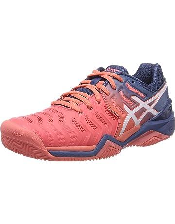 c2bfa337bf162 ASICS Gel-Resolution 7 Clay, Chaussures de Tennis Femme