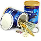 Diversion Can Safe Coffee Canister Decoy Stash