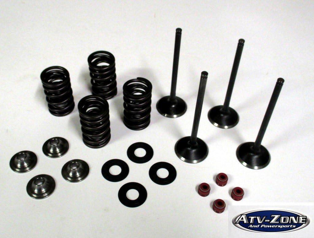 Grande + 1 mm Válvulas de admisión y de escape de acero ...