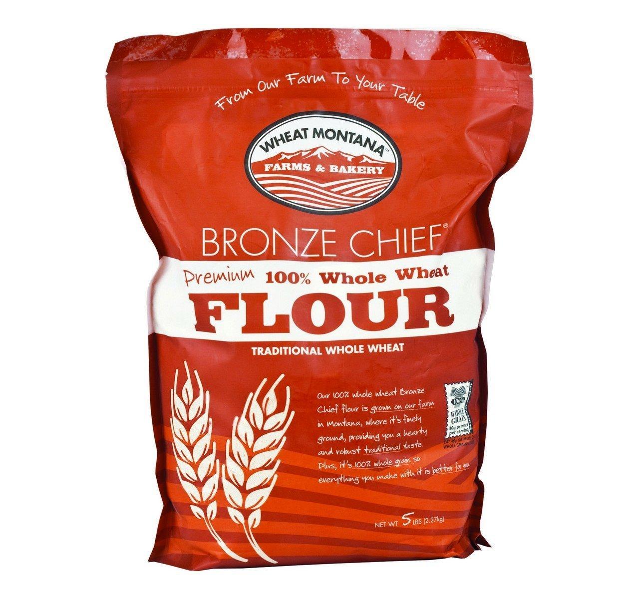 Amazon.com : Wheat Montana White Flour, Natural, 50 Pound