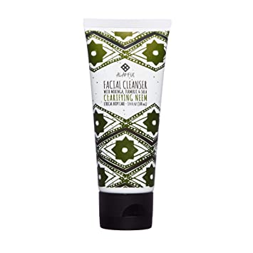 Facial Cleanser Clarifying Neem - 3.4 fl. oz. by Alaffia (pack of 1) biodroga anti-age cell day care dry skin (1.7 oz)