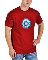 T-shirt Iron Man - Réacteur Arc - Marvel - Rouge