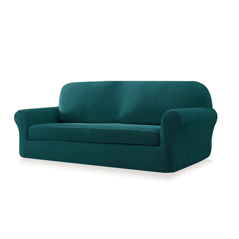 Amazon Subrtex 2 Piece Spandex Stretch Sofa Slipcover Sofa