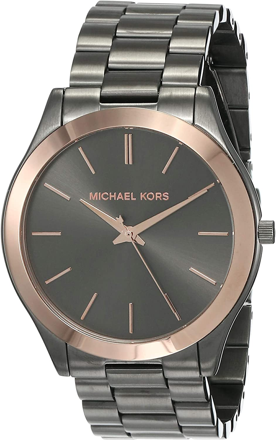 Michael Kors Slim Runway Men's Dress Wrist Watch