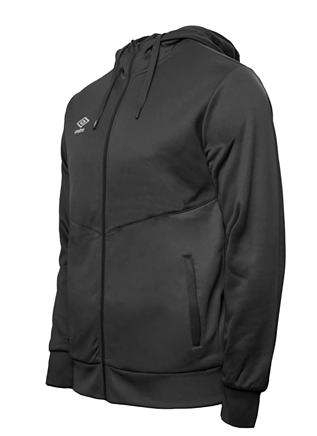 UMBRO Core Training Hooded FZ Jacket Chaqueta con Capucha, Hombre ...