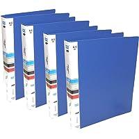 Zedextreme 2D Ring Binder File, A4 (Blue Ring Binder File-4Pack) - Pack of 4