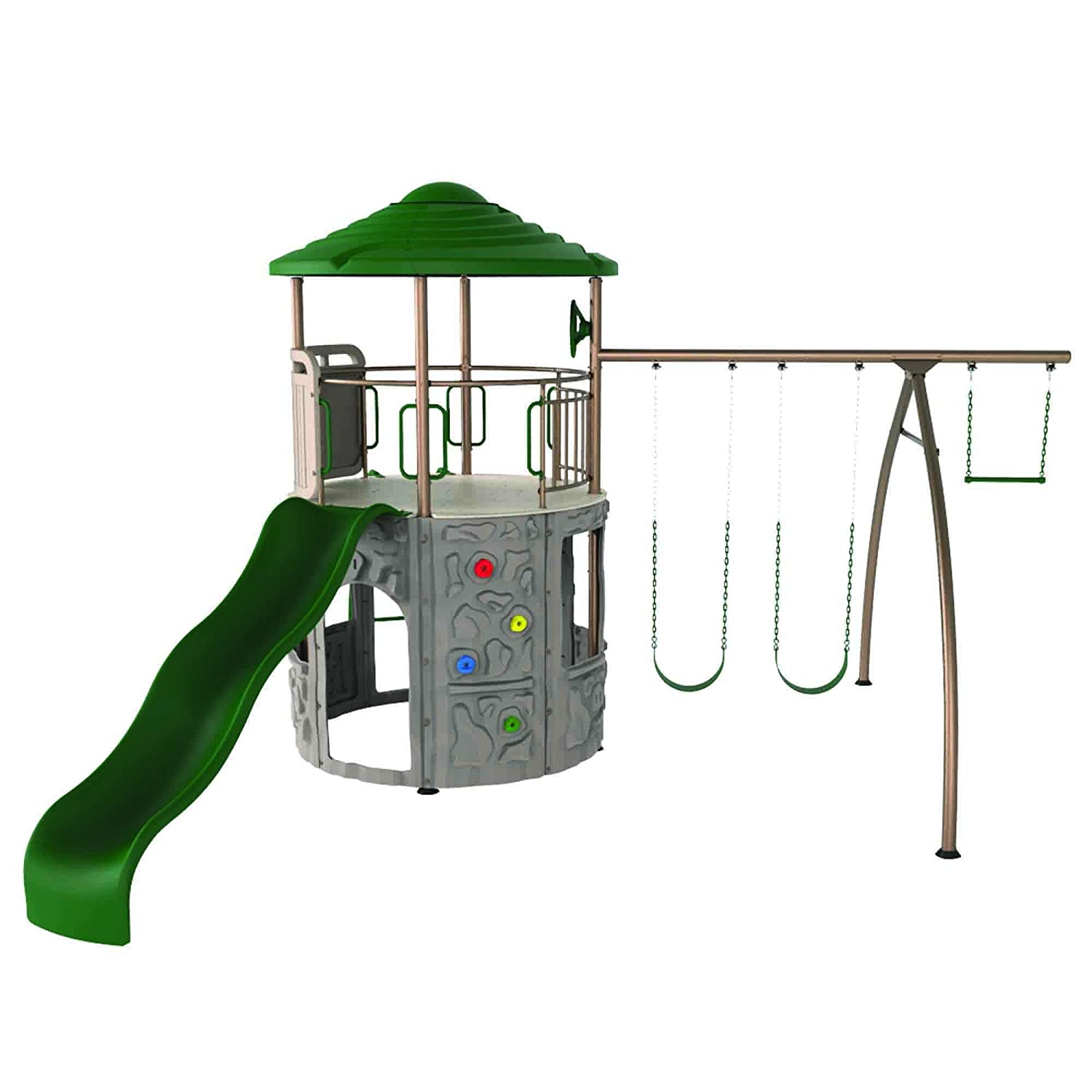 amazon com lifetime adventure tower playset sports u0026 outdoors