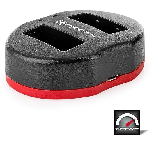 4 opinioni per Baxxtar USB Doppio / Dual caricabatterie TWIN PORT 1835 per la batteria Olympus