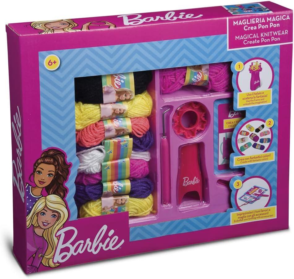 Grandi Giochi GG00521 Set Accessori Maglieria Magica di Barbie
