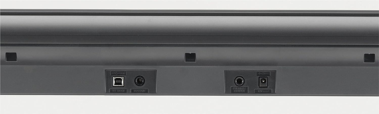 Yamaha NP-V80 NPV-80 - Piano digital (plástico, 76 teclas, 2 altavoces integrados, conector tipo USB), color negro: Amazon.es: Instrumentos musicales