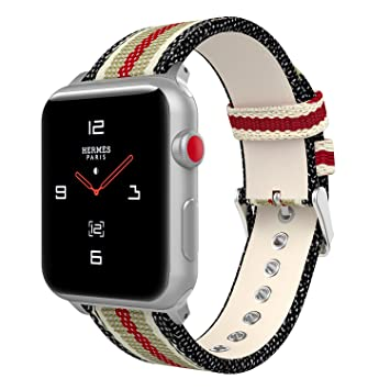 MoKo Correa para Apple Watch 38mm 40mm Series 4/3/2/1,