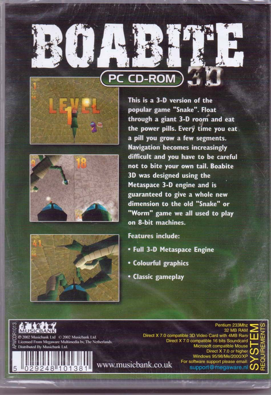 Boabite 3D (PC CD): Amazon co uk: PC & Video Games