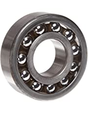 SKF 1206 ETN9 Double Row Self-Aligning Bearing, ABEC 1 Precision, Open, Plastic Cage, Normal Clearance, Metric, 30mm Bore, 62mm OD, 16mm Width, 1050.0 pounds Static Load Capacity, 3510.00 pounds Dynamic Load Capacity