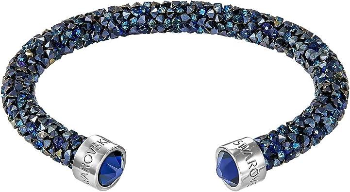 Swarovski Crystaldust Cuff, Blue, S 5255911