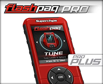 3. Superchips 5845 Flashpaq F5 Pro Custom Tuning Handheld Vessel Programmerfor 6.2 Denali